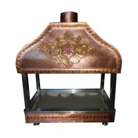 Glass Copper Hood 4
